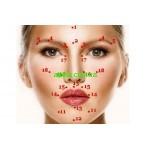 Акупунктурные точки на лице- омоложение кожи без скальпеля!