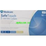 Перчатки латексные опудренные Medicom