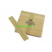 Шпатели деревянные для депиляции одноразовые, 100 шт. (узкие)