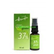 Мультикислотный химический  пилинг LACTOBIONIC GREEN 37%,pH 1,3  30мл Альпика