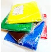 Чехол на кушетку плотный с резинкой  и завязкой плотность 70 Размер: 0,8х 2 м- разные цвета