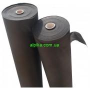 Одноразовая простынь черного цвета спанбонд 0,8 х100 м, плотность 20
