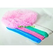 Одноразовые шапочки 100 шт. разные цвета