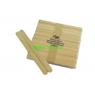 Шпатели деревянные для депиляции одноразовые, 50 шт. (узкие)