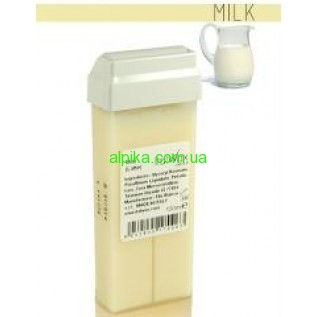 Теплый Воск в картридже Ital Wax плотный 100 мл Белый Milk