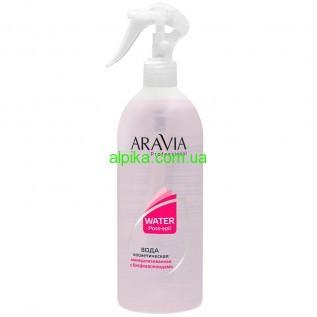 Вода косметическая с биофлавоноидами  после шугаринга ARAVIA Professional 500мл