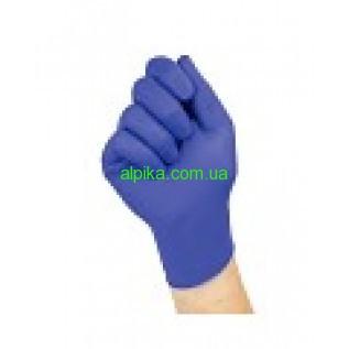 Перчатки нитриловые Polix неопудренные фиолетовые