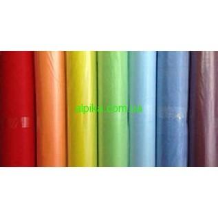 Простынь одноразовая в рулоне 0,6х100м СПАНБОНД плотность 20г/м2 разные цвета