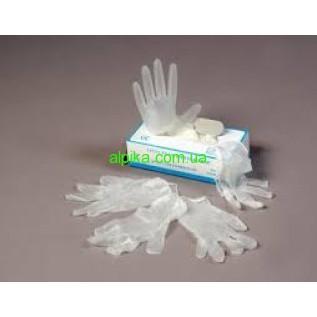 Перчатки виниловые   SAFETOUCH MEDICOM  нестерильные, неопудренные .Размеры X,M, L-упаковка 100 шт