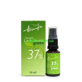 Мультикислотный пилинг LACTOBIONIC GREEN 37%,pH 1,3  30мл Альпика