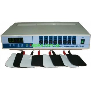 Аппарат для миостимуляции АЭСТ-01 (восьмиканальный).МедИнТех