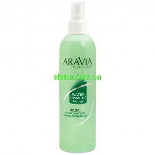Вода косметическая минерализованная ARAVIA Professional 300 мл
