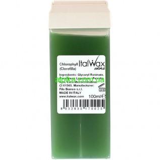 Теплый Воск в картридже Ital Wax прозрачный 100 мл Хлорофилл