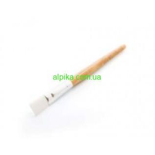 Кисть косметологическая для масок (ручка деревянная)