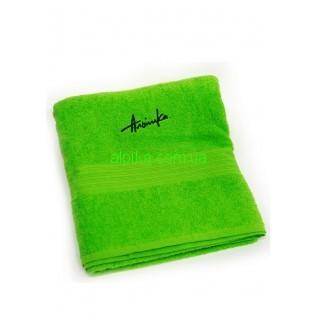 Махровое полотенце с логотипом 40x70 (см)  Альпика