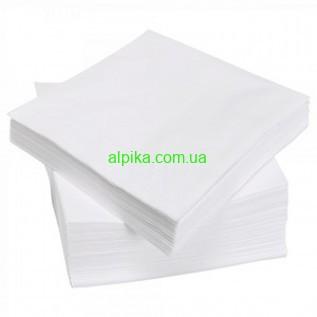 Салфетки в пачках 20см х 40см (100 шт\пач) из спанлейса 40г\м2 РБ