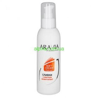 Сливки после депиляции для восстановления рН кожи с маслом иланг-иланг ARAVIA Professional 150 мл