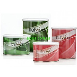 Теплый Воск в банке ItalWax  ( роза, натуральный ,алое,цинк) 400мл -