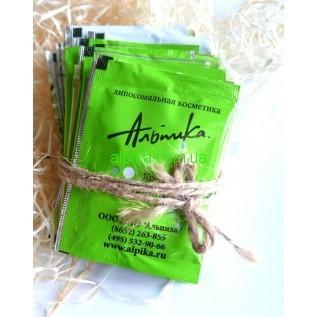 Тест Увлажняющий крем с маслом какао и витамином Е 2,5 мл Альпика