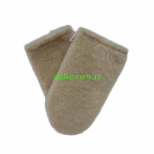Варежки для парафинотерапии из меха