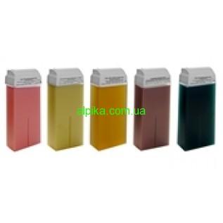 Теплый Воск в картридже Ital Wax прозрачный 100 мл( азулен, натуральный,алое,хлорофилл,)