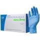 Перчатки нитриловые NEW Advanced SafeTouch MEDICOM голубого цвета без пудры,размер XS,S,M 100 шт